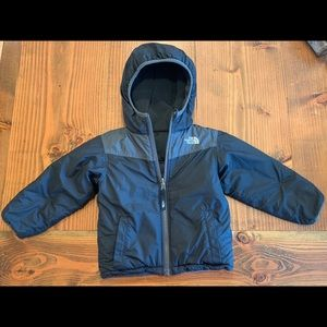 3T North Face reversible winter jacket.